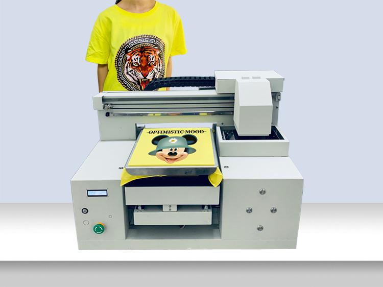 A3 mini DTG tshirt printer machine