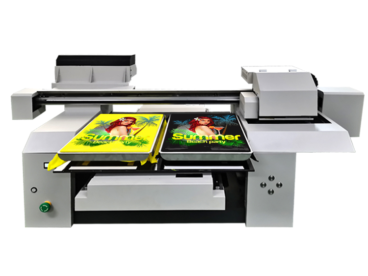 A1 t-shirt printer machine for dark color and light color
