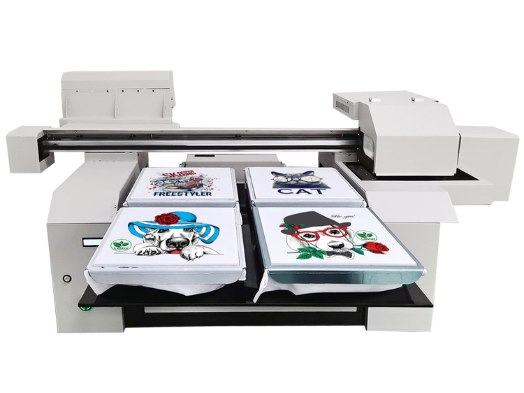 Factory A1 t-shirt printer machine for dark color and light color