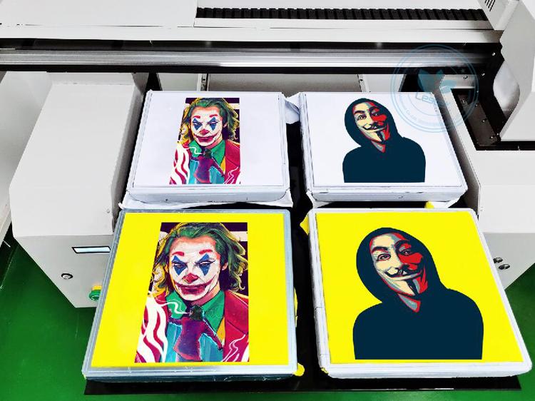 A1 Factory 2 or 4 pcs of tshirts pritning printer machine