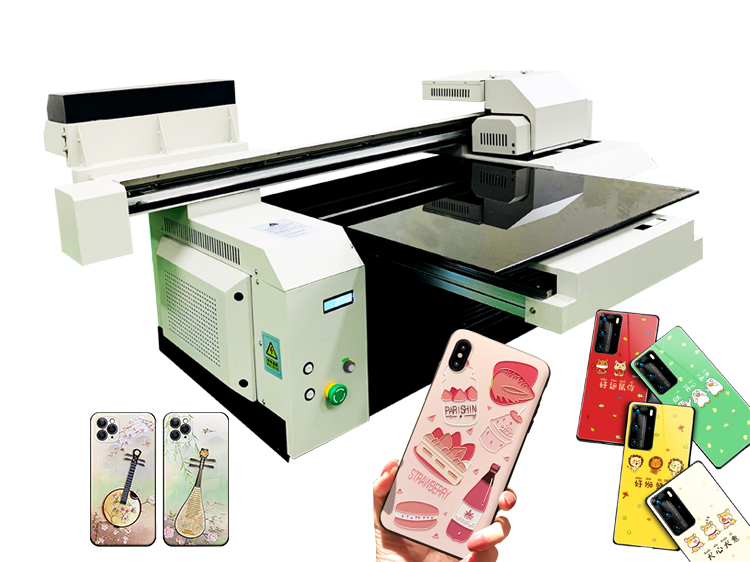 A1 UV flatbed printing machine phone case directly printing