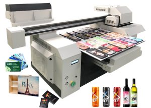 A1 UV flatbed printer machine for many bottle leather phone case wood and more printing