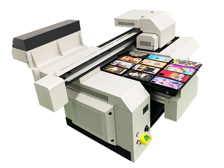 A3 phone case UV flatbed printer machine for case printing