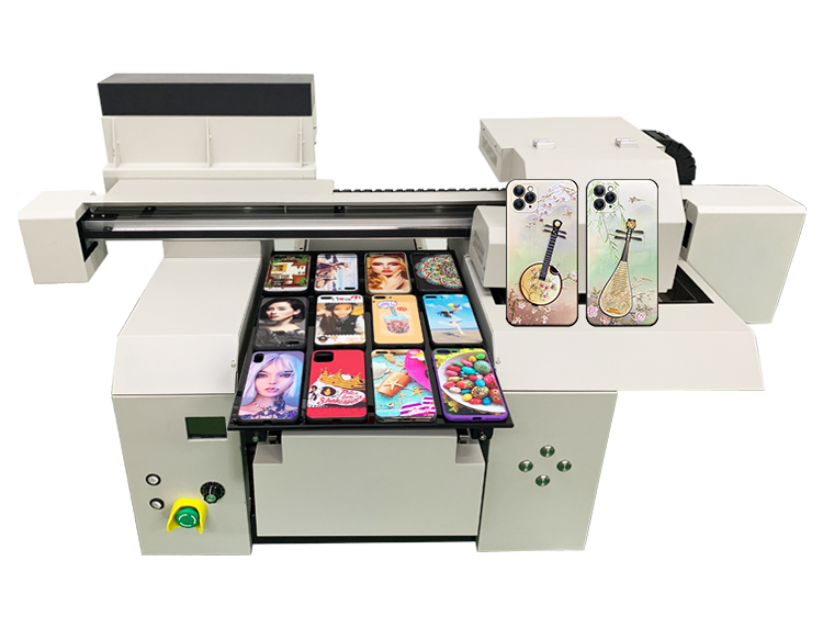 A3 3352 High Resolution Double Print Heads UV Cell Phone Case Printer