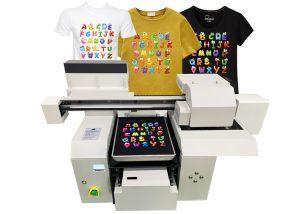 A3 tshirt printer machine for different kids of tshirt textile printing