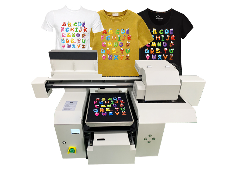 A3 tshirt printer machine for different kids of tshirt textile printing