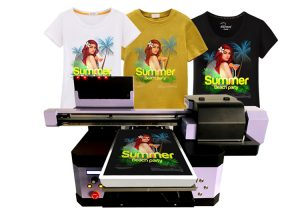 DTG t-shirt printer machine