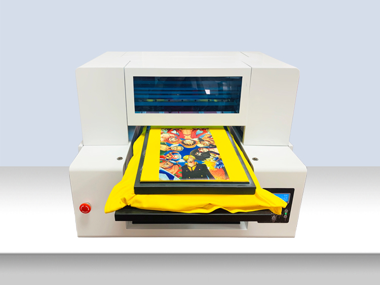 A2 4260 Double Print Heads CMYK+4W Ink-jet direct to Garments DTG Textile T-shirt Printer