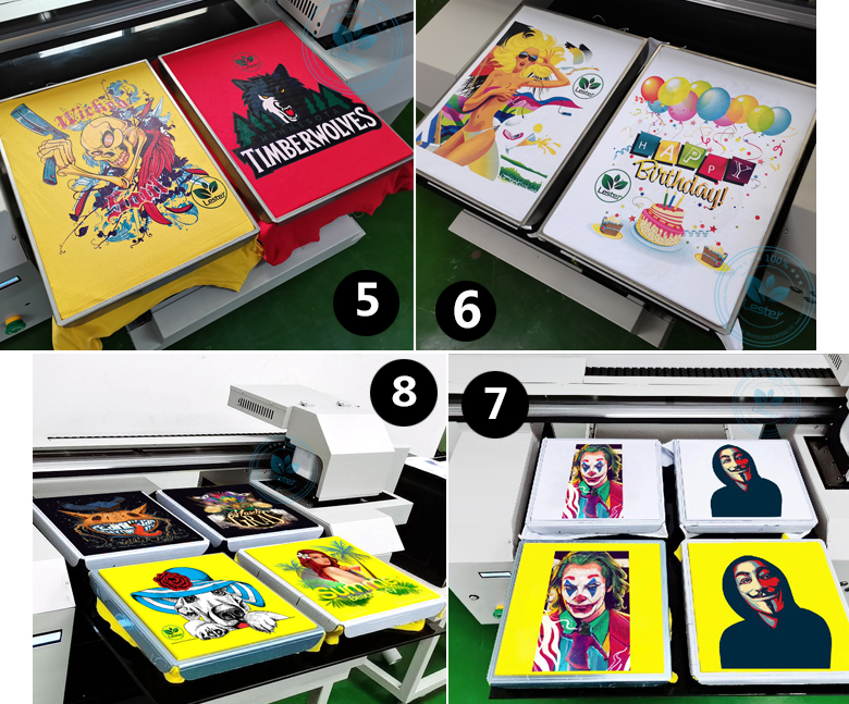 A1 DTG printer double or 4 pattern printing t-shirt printer