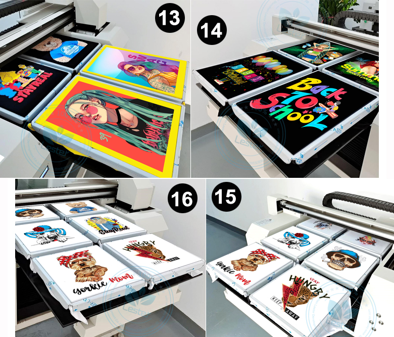 t-shirt printing machine printing images