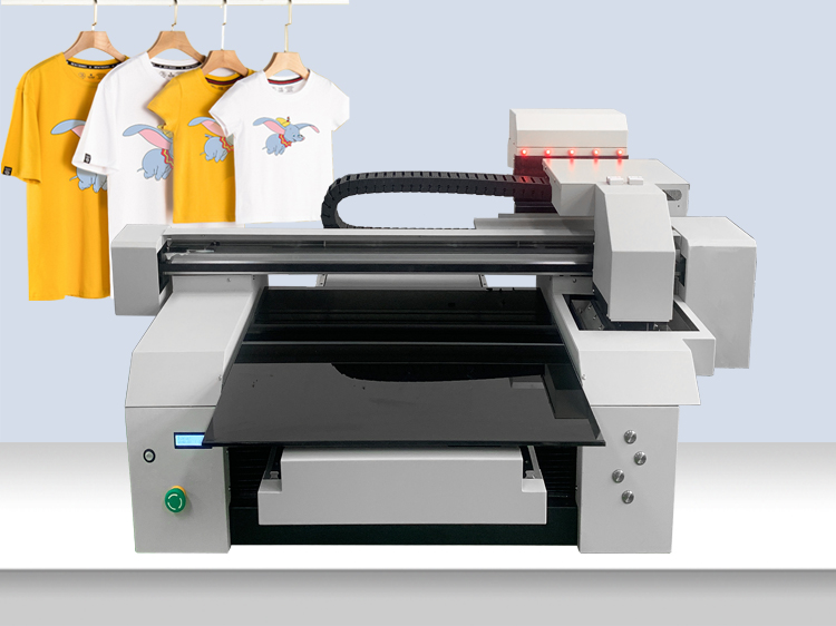 DTG printer for different kinds of tshirts printing