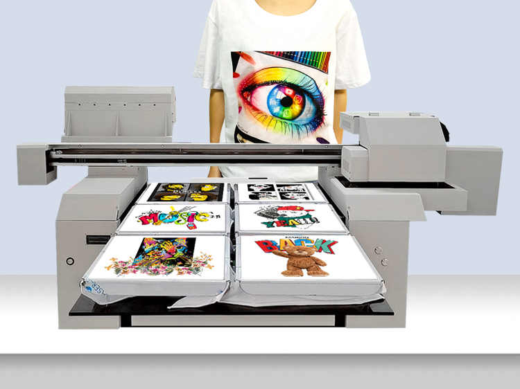 A1 2 or 4 or 6 pcs of tshirt printing machines