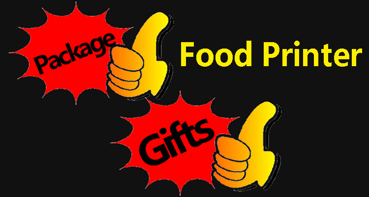 What package will you get when buying Food Printer?