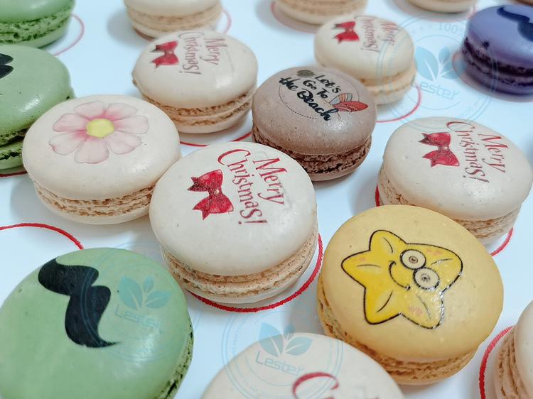 Food printer Macaron printing image