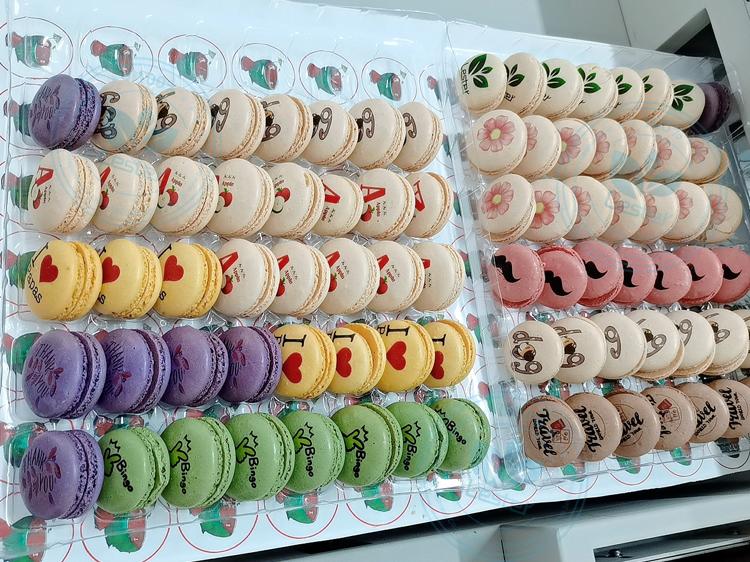 Macaron printing image