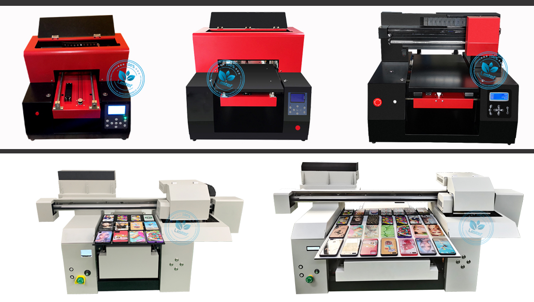 UV flatbed printers A1 A2 A3 phone case printer