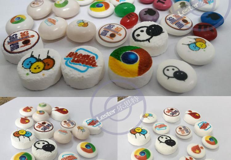 Food printer candy printing image