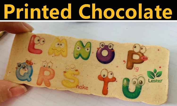 chocoalte printing image