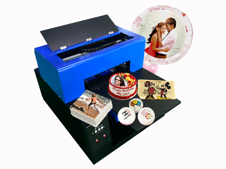 A3 Food Printer machine for printing pictures on cakes/coffee/chocolate/bread/cookies/macaron/candy