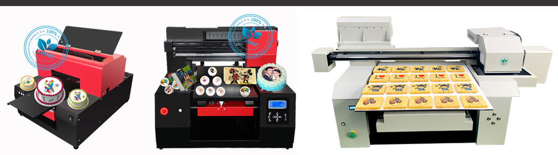 A1 A2 A3 size food printer machines