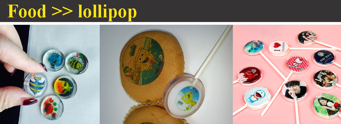 Lollipop Food Printer