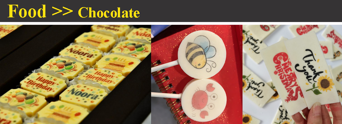 food chocolate printer printed chocolate printing images