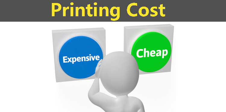 How much is the printing cost?