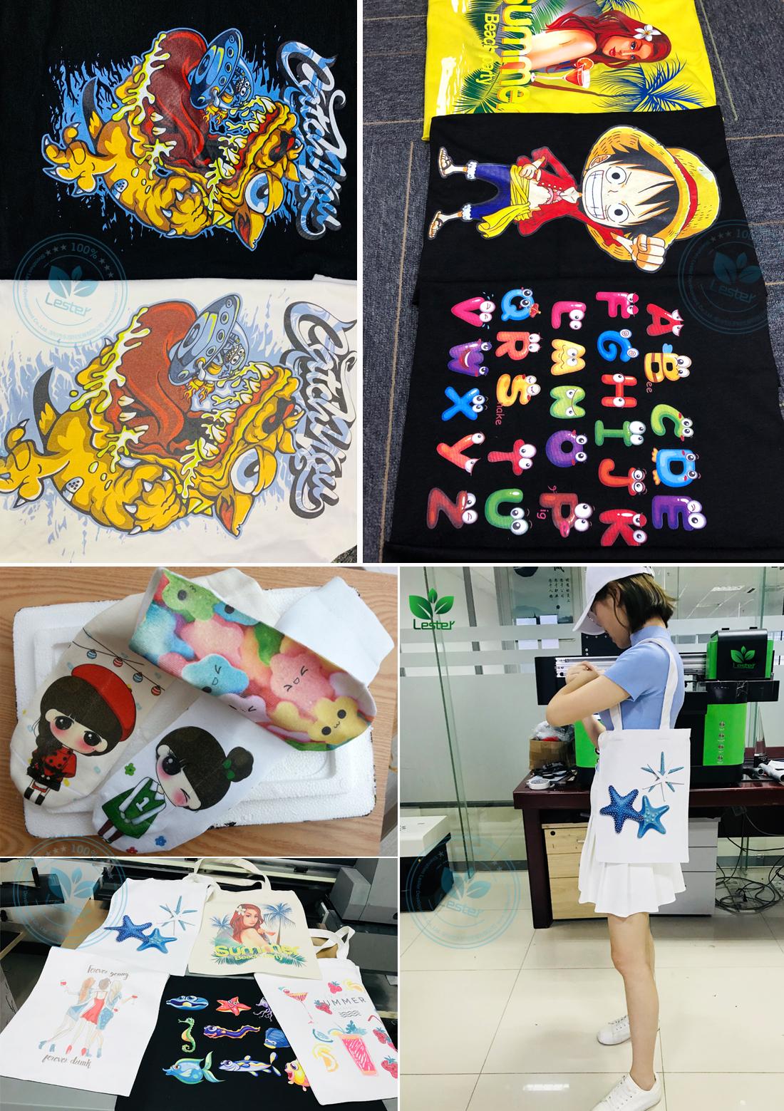 canvas and t-shirt printing image