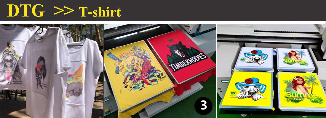 t-shirt printing image by t-shirt printer machine