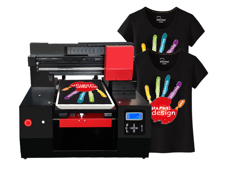 A3+ size t-shirt printing machine