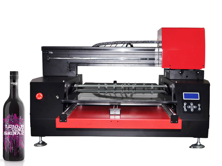A1 Size 6060 2 Print Heads Wide Format UV Flatbed Bottle Printer
