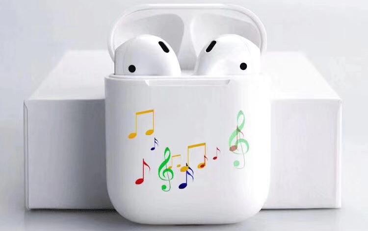 Bluetooth headset box printing image 01