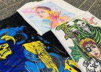 CMYKW t-shirt printing image 01