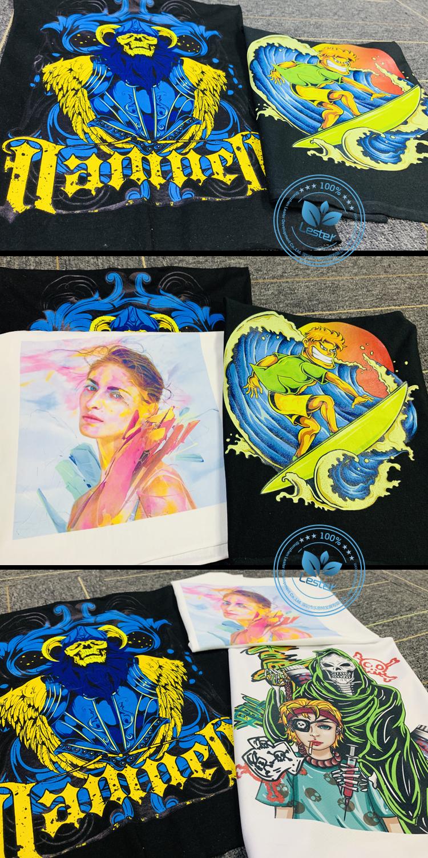 CMYKW t-shirt printing image 02