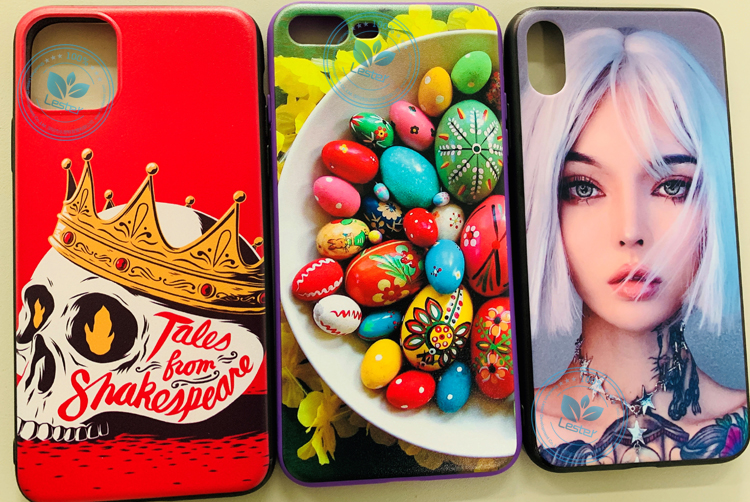 Phone Case Printing Sample Images by High-end UV Flatbed Printer