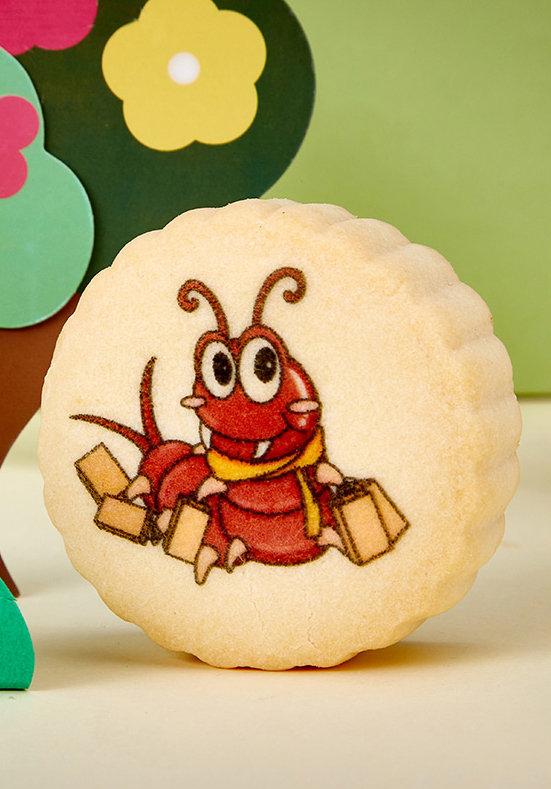 cake centipede image printing
