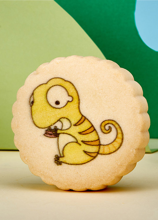 cake gecko image printing