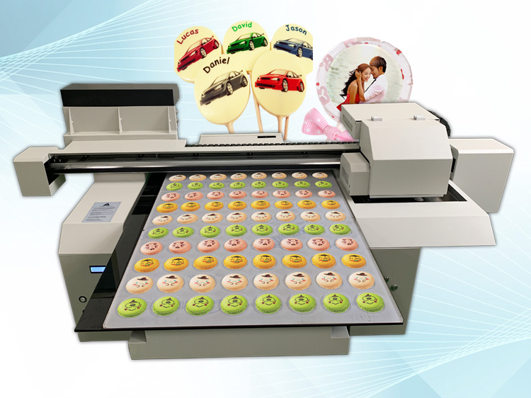 A1 size edible food printer machine for different kinds of food printing