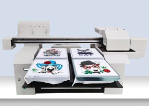 A1 Factory 2 or 4 pcs of tshirts pritning printer DTG printer machine