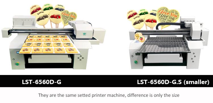 multi size food printer machine