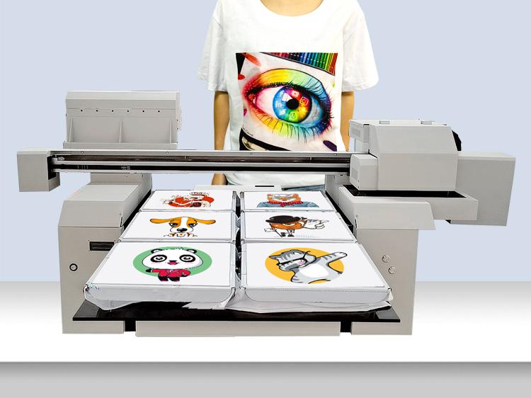 A1 size DTG t-shirt printer