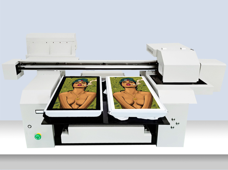 A1 6090 6590 6560 Two or 4 pcs Printing 2 Print Heads Setted Fast tshirt Printing Machine