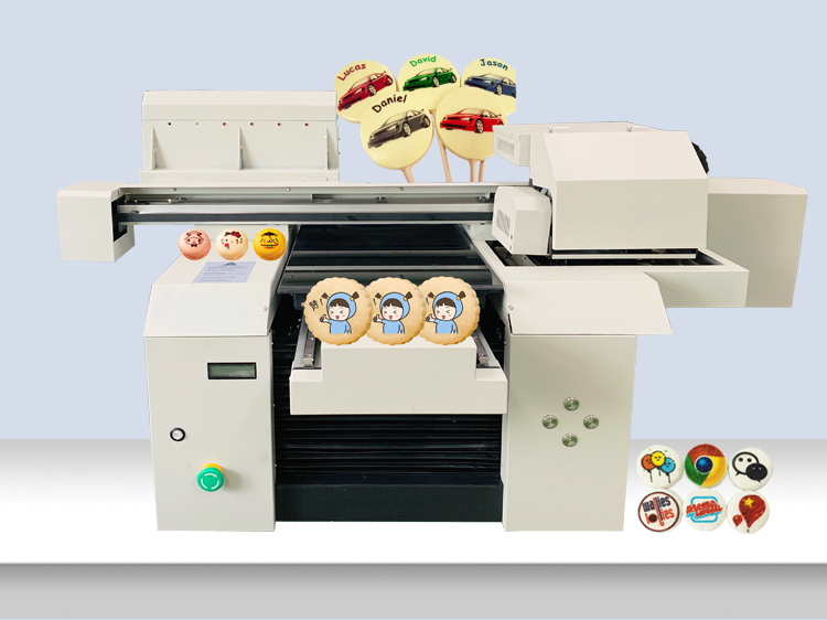 A3+ Edible Food Printer Machine for Cake/Chocolate/Bread/Cookies and Macaron Candy Printing