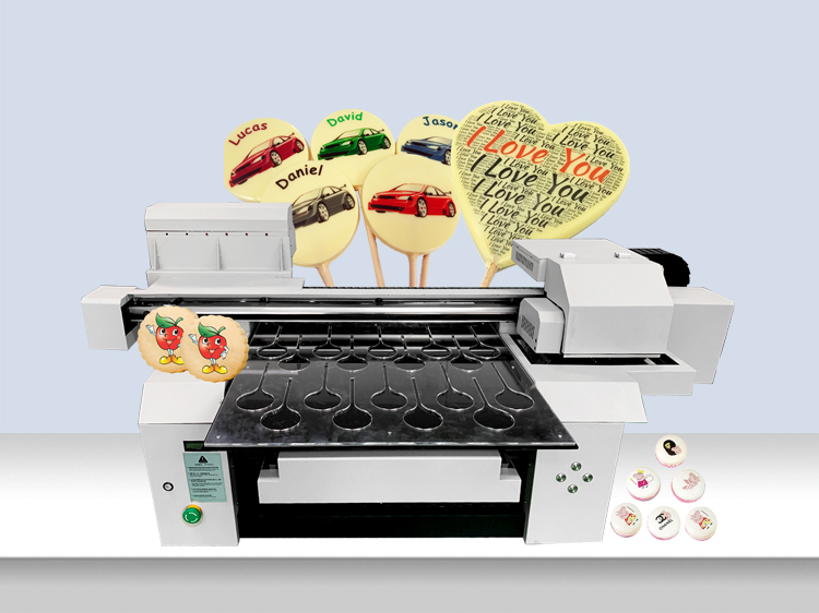 China A1+ 6560 6090 Edible Decorating Food Printer Cake Photo Food Printing Machine