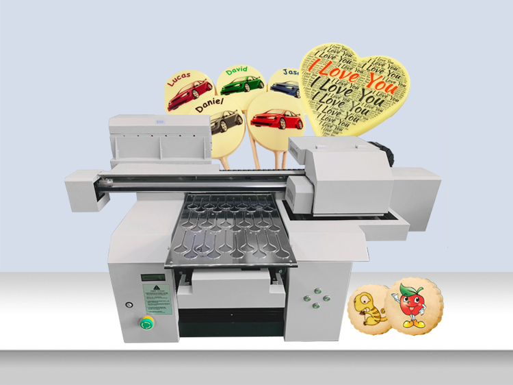 A3+ High Speed Edible Food Macaron printer, Edible Cake Photo Printing Machine