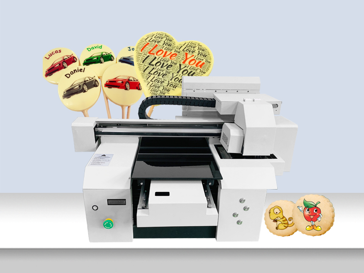 A3+ Fast Printing Speed Work Stably Photo Directly Inkjet Printing Chocolate Food Printer Machine