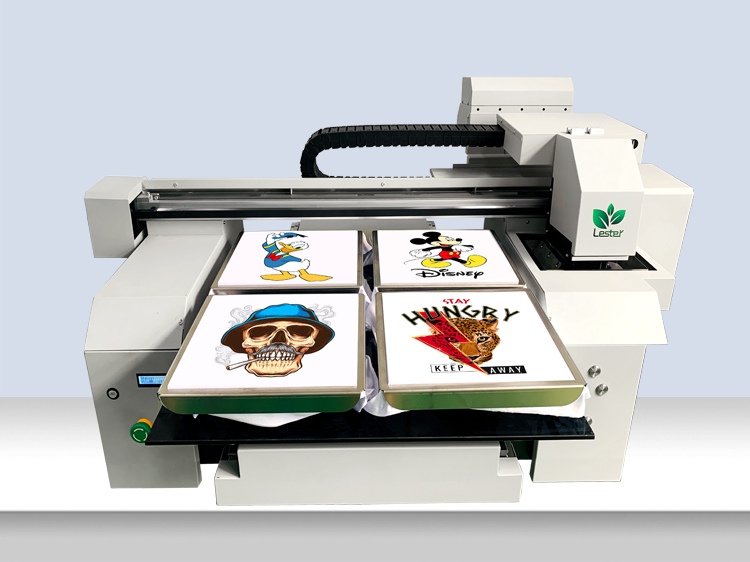 A1 A2 6560 Good Quality New 2 or 4 station Textile Fabric T-shirt Printing Machine