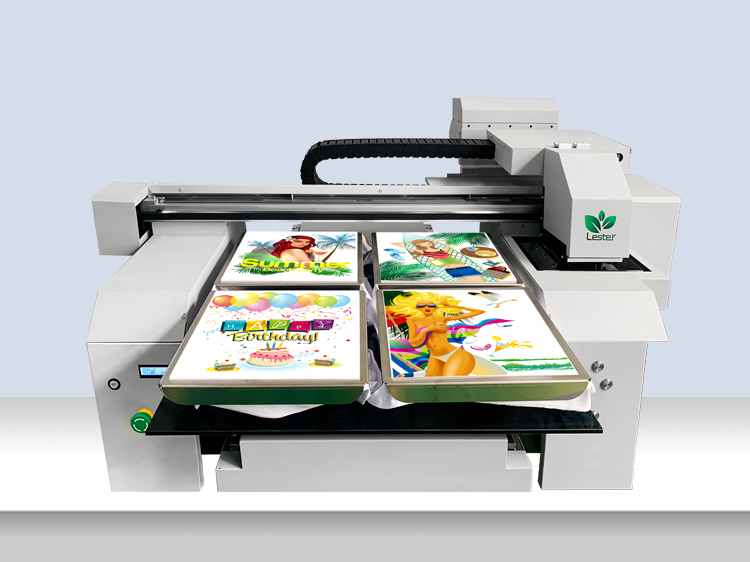 A1 A2 6560 Good Quality New 2 Or 4 Station Textile Fabric T Shirt Printing Machine Lester Printer Machines
