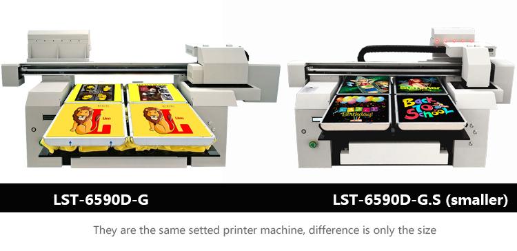 A1 size multicolor DTG printer machines