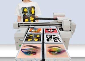 6 pcs tshirt printing DTG printer
